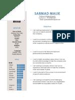Sarmad Malik...