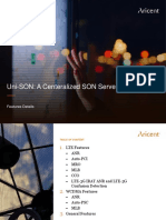 Aricent Uni-SON Feature Details