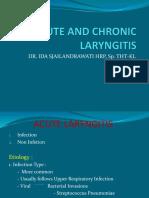 (K24) acute & chronic laryngitis.ppt