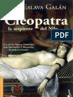Eslava Galan Juan. Cleopatra. La serpiente del Nilo..pdf