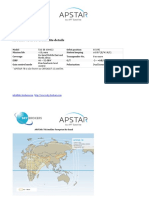 APSTAR 7B Satellite Footprint