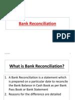 Bank Reconciliation AAO exam