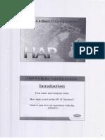 HAP - Hourly Analysis Program Tutorial