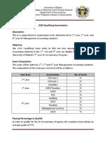 2019 Qualifying Examination