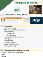 EM 311 Principles of Mining