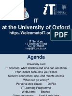 it policy Oxford University
