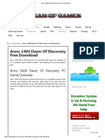 [Pc Game] [Pc Game] Anno 1404 Dawn of Discovery