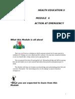 Health Ed II Module 4