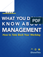 What you do not know about management 7