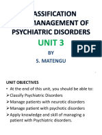 UNIT 3 CLASSFICATION & MGT OF PSYCHIATRIC DISORDERS - Copy (1) (1).pptx