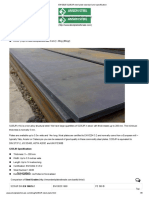 EN10025 S235JR Steel Plate Standard and Specification