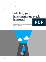 Admit It Your Investments Are Stuck in Neutral(1)