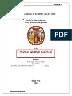PRACTICA N° 5 DE ADMINISTRACION AGROPECUARIA