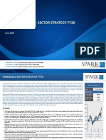 Financials Sector Strategy - FY20