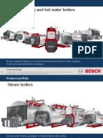 Bosch Industrijski Kotlovi - proizvodni program