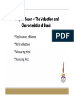 Topic 2 - Bond Valuation