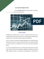 Las Mejores Estrategias de Forex