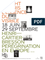 Expositions L'essence du visible de Wright Morris et Pérégrination en Europe de Henri Cartier-Bresson