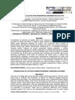 PRODUÇÃO DE ALFACE SOB DIFERENTES SISTEMAS DE CULTIVO
