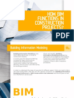 How BIM function in construction projects? - CAD Oursourcing