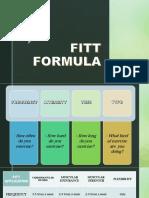 Fitt Formula