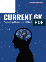 CURRENT GK Book for Cat and MBA exams in India.pdf