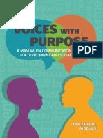2019 Voices With Purpose. Conceptual Module