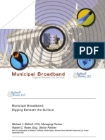 Municipal Broadband--Digging Beneath the Surface