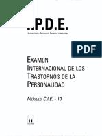 Examen Internacional de Los Ts de Personalidad