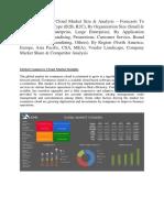 Global Commerce Cloud Market Size