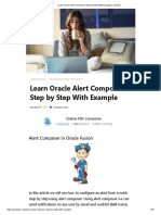Learn Oracle Alert Composer Step by Step With Example _ Iavinash