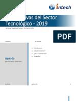 Perspectivas Del Sector Tecnológico e Inservión Laboral 2019