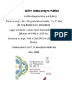 Informe de Taller Extra Programático Matematica Nivel 1_concepcionlizarragamatias