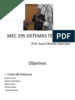Aula 04-Sistemas Térmicos-ciclos de Potencia