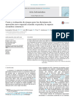 Cost and Risk Assessment for Spacecraft Operation.en.Es