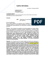 Respuesta a Carta Notarial-Desalojo