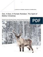 Doe, A Deer, A Female Reindeer_ the Spirit of Mother Christmas – Gather
