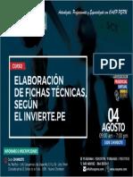 Elaboracion de Fichas Tecnicas, Segun Invierte.pe