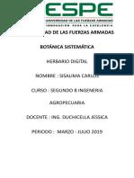 Carlos Sisalima Hervario Digital