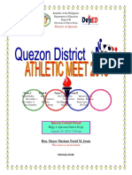 Program District Meet