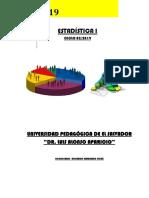 Upes Historia de La Estadística Unidad 1 2019