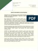 Kenyataan Media Istana Negara 6 Jan 2019