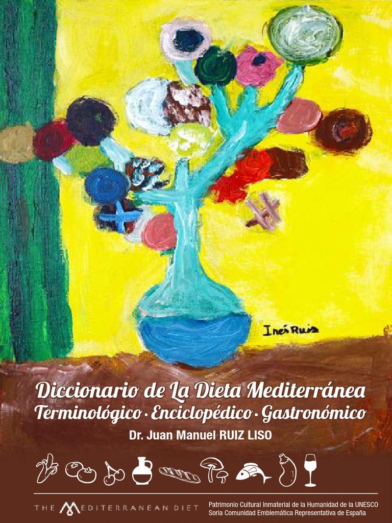 tabla de dieta mediterránea pdf