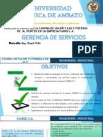 Gerencia Servicio Maizancho Rosero Villacís Villacís