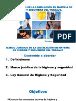 Definiciones Del Marco Juridico de La Hst-cadin Test