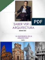 Saber Ver La Arquitectura