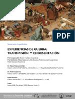 EXPERIENCIAS DE GUERRA
