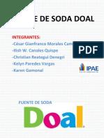 Fuente de Soda Doal