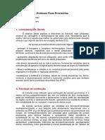 PPFs Provisórias