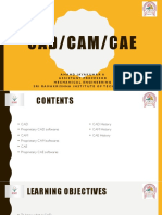 CAD/CAM/CAE Softwares